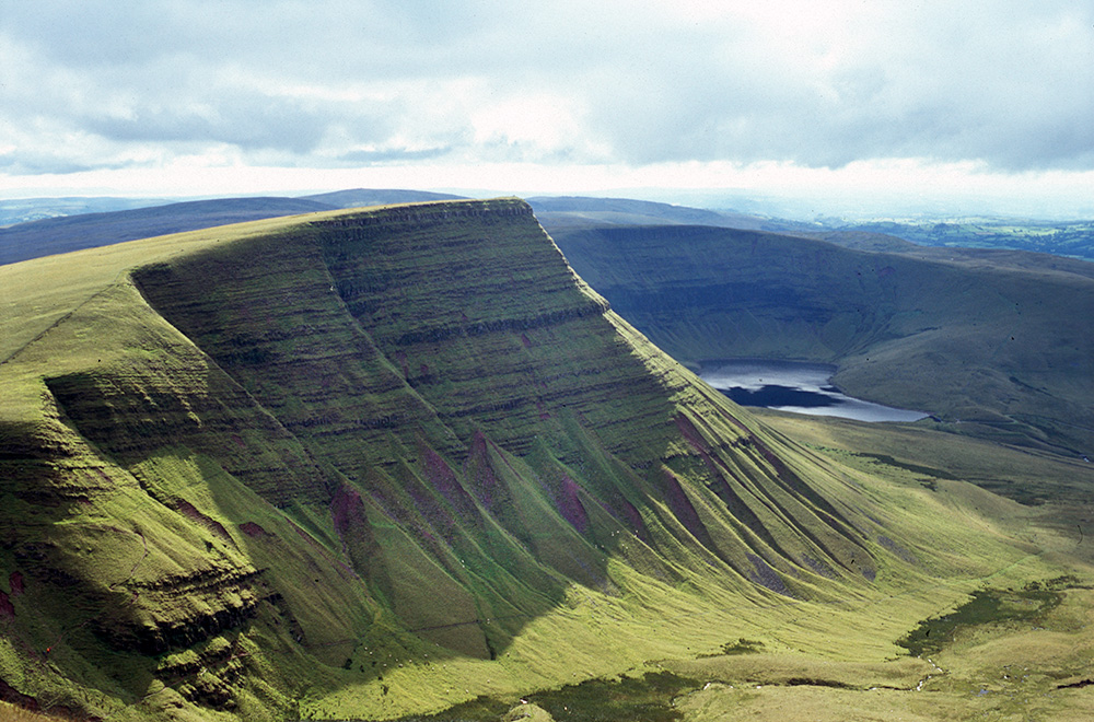 Brecon Beacons - Venue for our Day rode on the 10th of July.